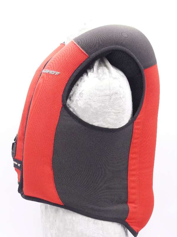 allshot airbag safely enfant déclenchement chute face
