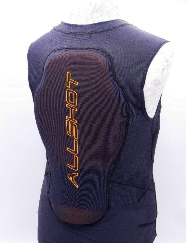 protection allshot dorsale equitrust adulte arrière