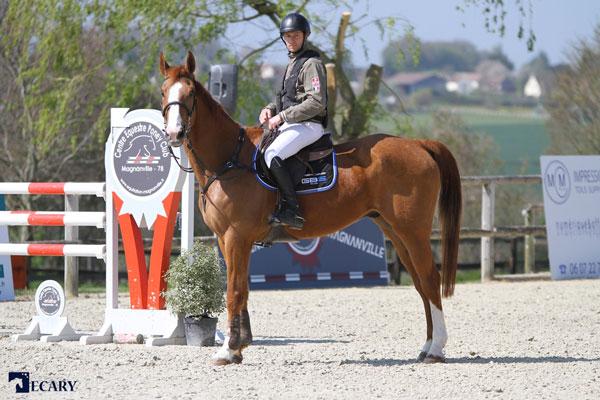Askara équitation protection du cavalier, spécialiste airbag et Hit Air partenaires cavalier professionnel Guillaume Bourdon-Martin au Magnanville GBS-ecary 2