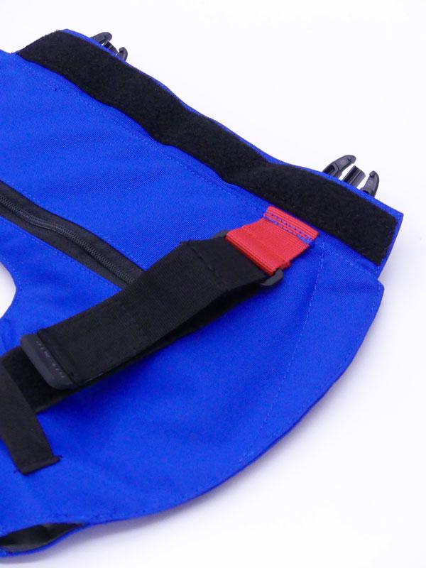Airbag équitation Hit Air Complet détails ceinture de réglage