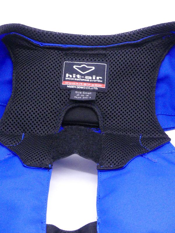 Airbag équitation Hit Air Complet détails étiquette taille