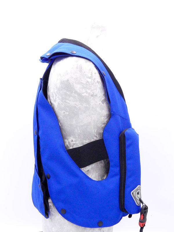 Airbag équitation Hit Air Complet Kid Bleu Royal Droit