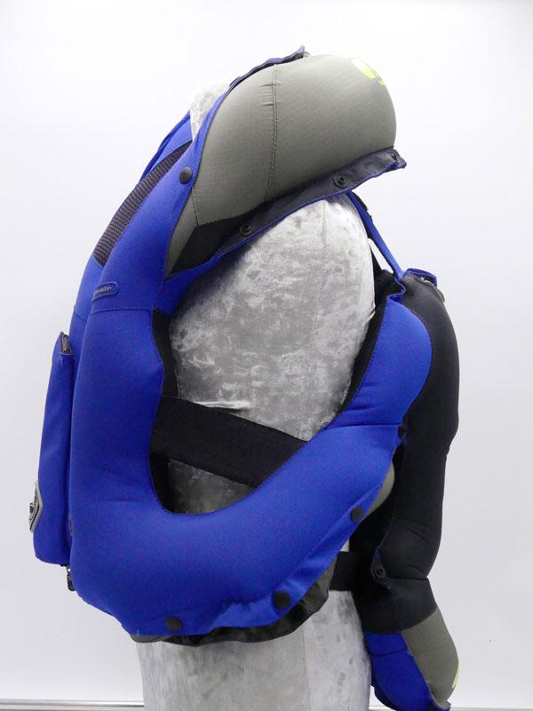 Airbag équitation Hit Air Complet Kid déclenchement chute Coté gauche