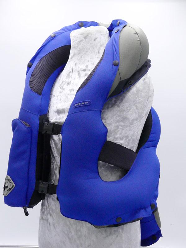 Airbag équitation Hit Air Complet Kid déclenchement chute Coté face