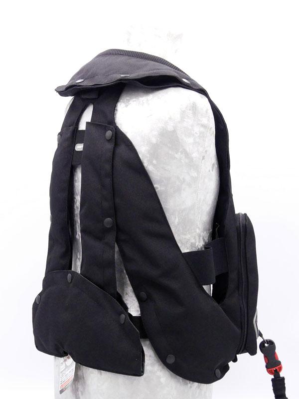 Airbag équitation Hit Air Complet Kid noir arrière