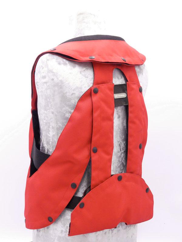 Airbag équitation Hit Air Complet Kid rouge arrière