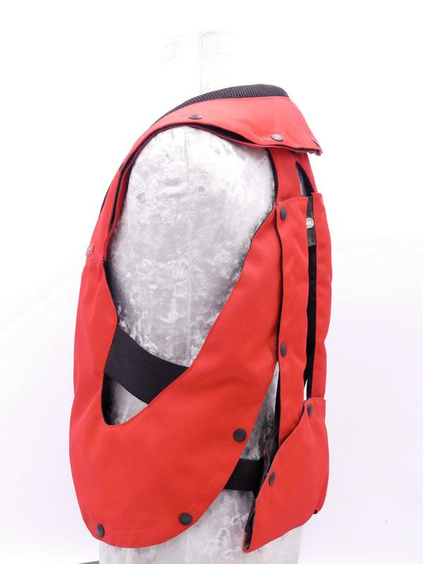 Airbag équitation Hit Air Complet Kid rouge gauche
