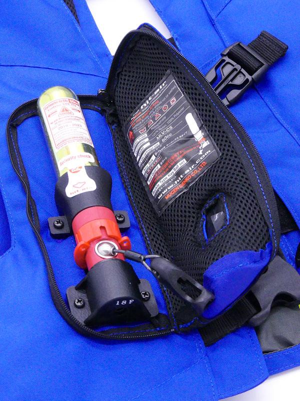 Airbag équitation Hit Air Complet détails Percuteur