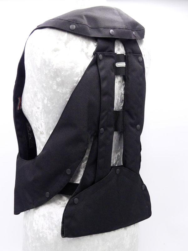 Airbag équitation Hit Air Complet Small noir Ar gauche