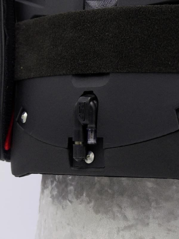 Askara équitation protection RXR gilet niveau 3 I-cross Détail Valve Avant