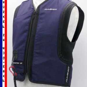 Allshot Safely Gilet airbag adulte Taille XL bleu marine France