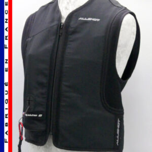 Allshot Safely Gilet airbag adulte Taille XXS noir France