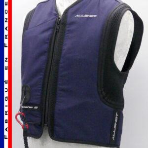 Allshot Safely Gilet airbag adulte Taille XXS Bleu Marine France