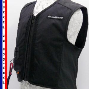Allshot Safely Gilet airbag enfant Taille 2 Noir France