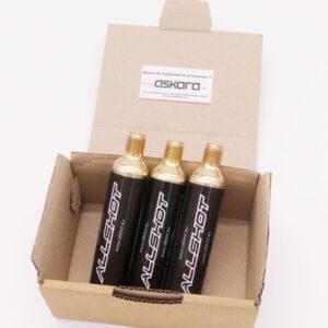Allshot airbag accessoires cartouche 60cc - lot de 3